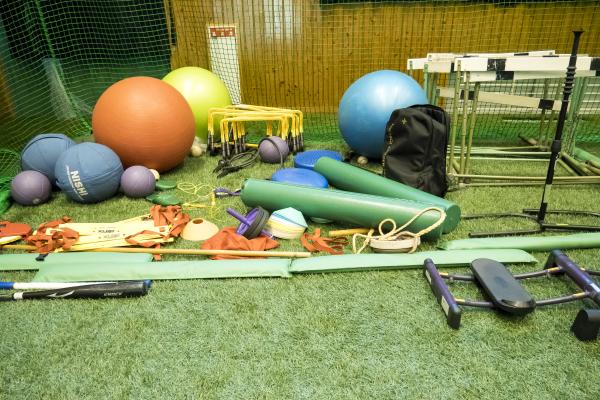 小山ベースボールビレッジトレーニング器具